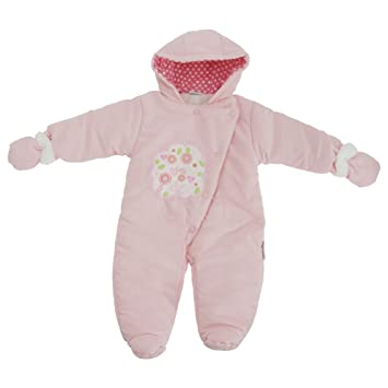 fb5b3e5b6 Image Unavailable. Image not available for. Color: Baby Girls I Love You  Tree Design All In One Hooded Winter Snowsuit (9-