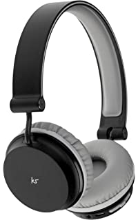 fe2554a550c KitSound Metro Wireless On-Ear Bluetooth Headphone for Smartphone and  Tablet - Black
