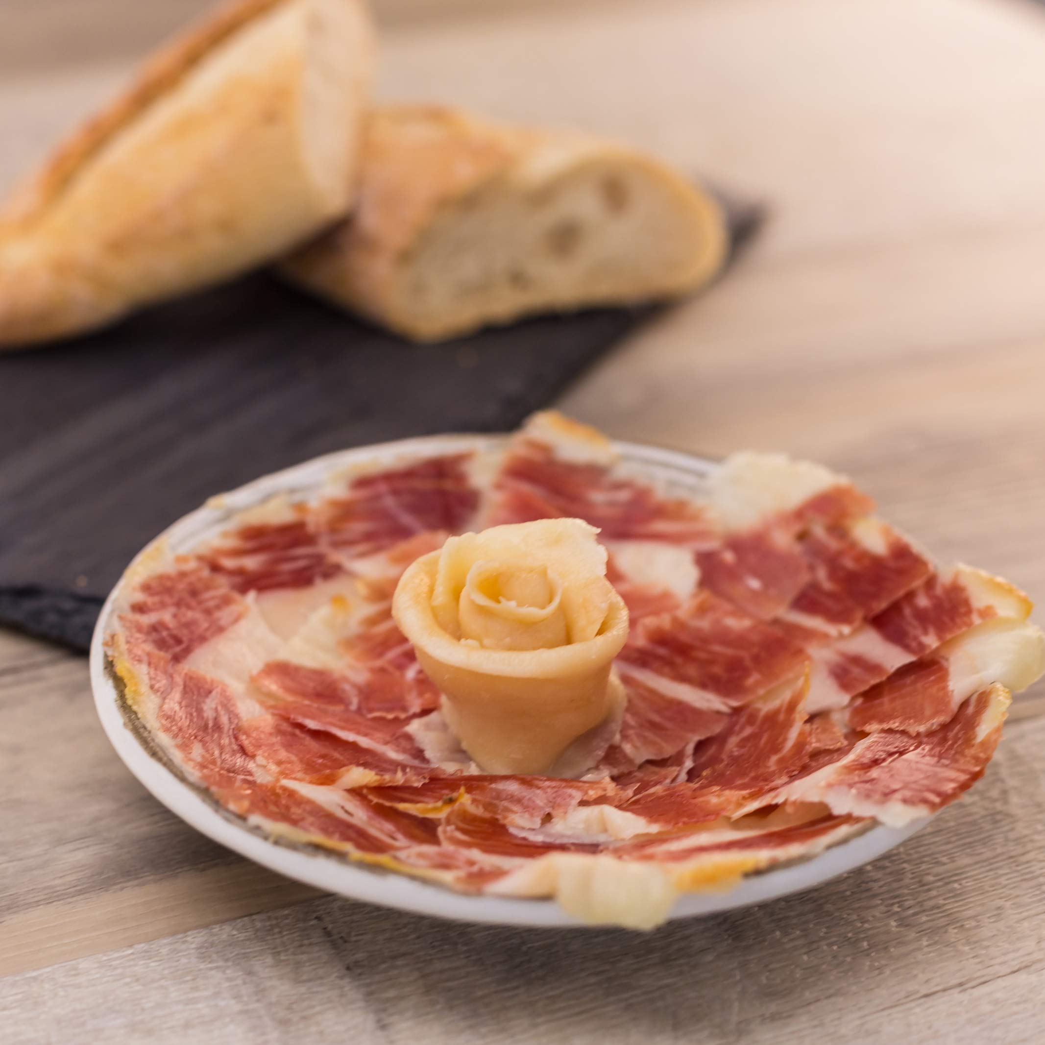 La Jamoteca - Pure Bellota Iberico Ham, Premium Quality, Hand Carved Style, 4 years curated, 100% Iberico, Pata Negra, 4 Packages - (2oz Each) by Loveiberico (Image #6)