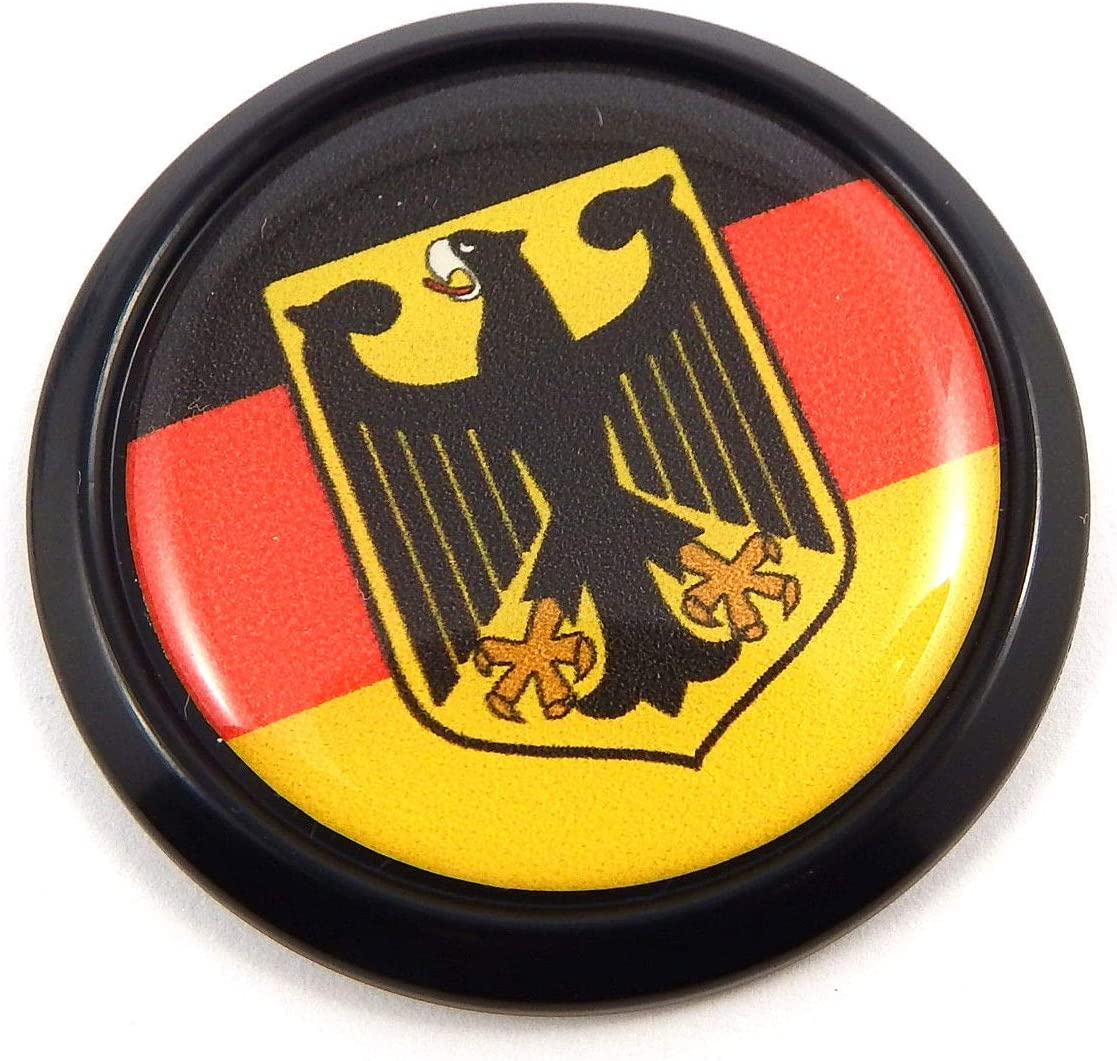 Sticker Germany Resin Domed Stickers Germany Flag 3D Vinyl Adhesive Decal Car