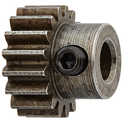 Robinson Racing Products 8717 Hard Bore 0.8 Module Pinion Gear, 17T, 5mm: Toys & Games