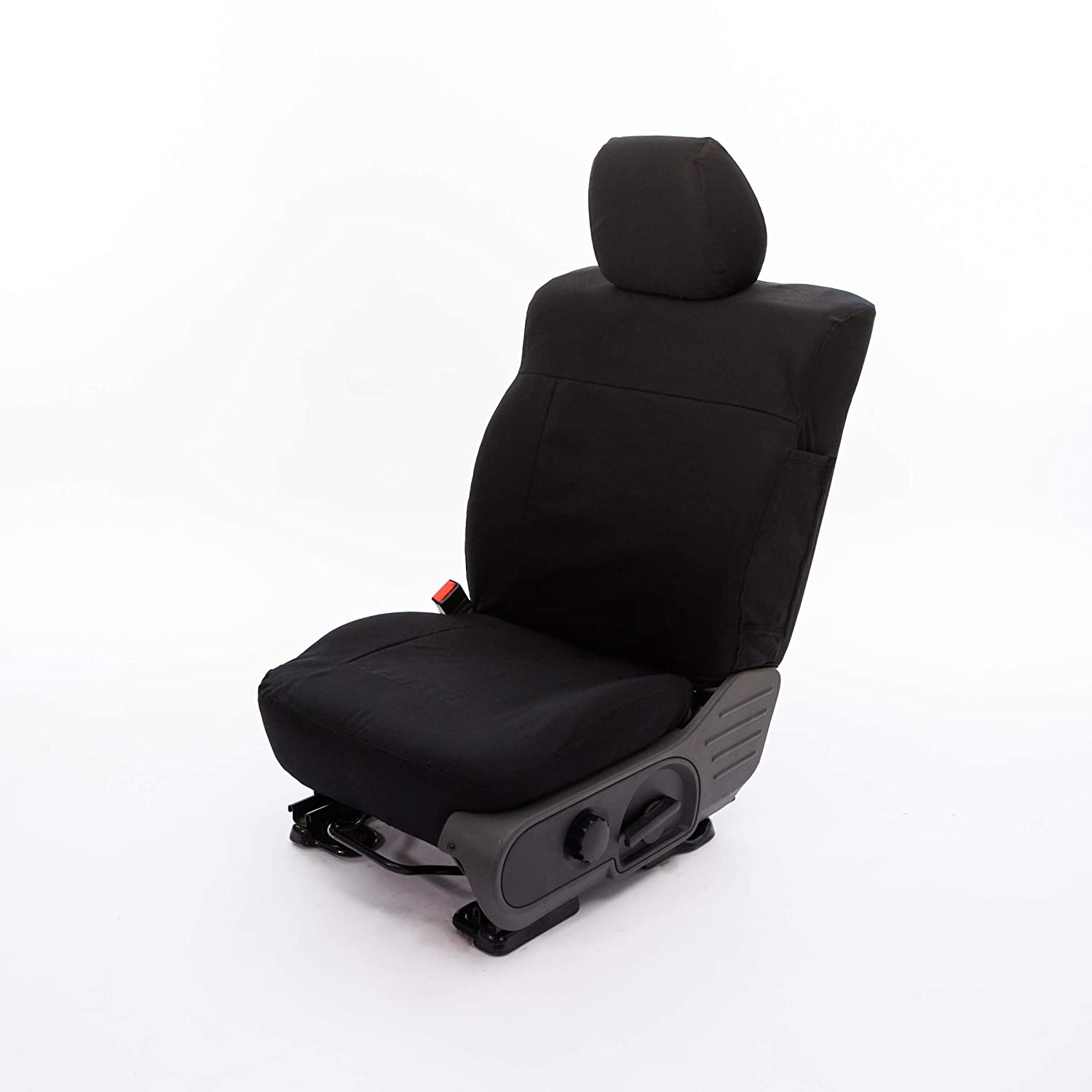 Jeep Saddleman A 049924-81 Charcoal//Black Rugged Canvas Custom Seat Cover Fits