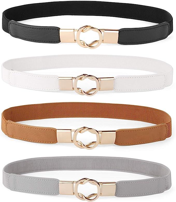 Amazon.com: Cinturón ajustado para vestidos, estilo retro ...