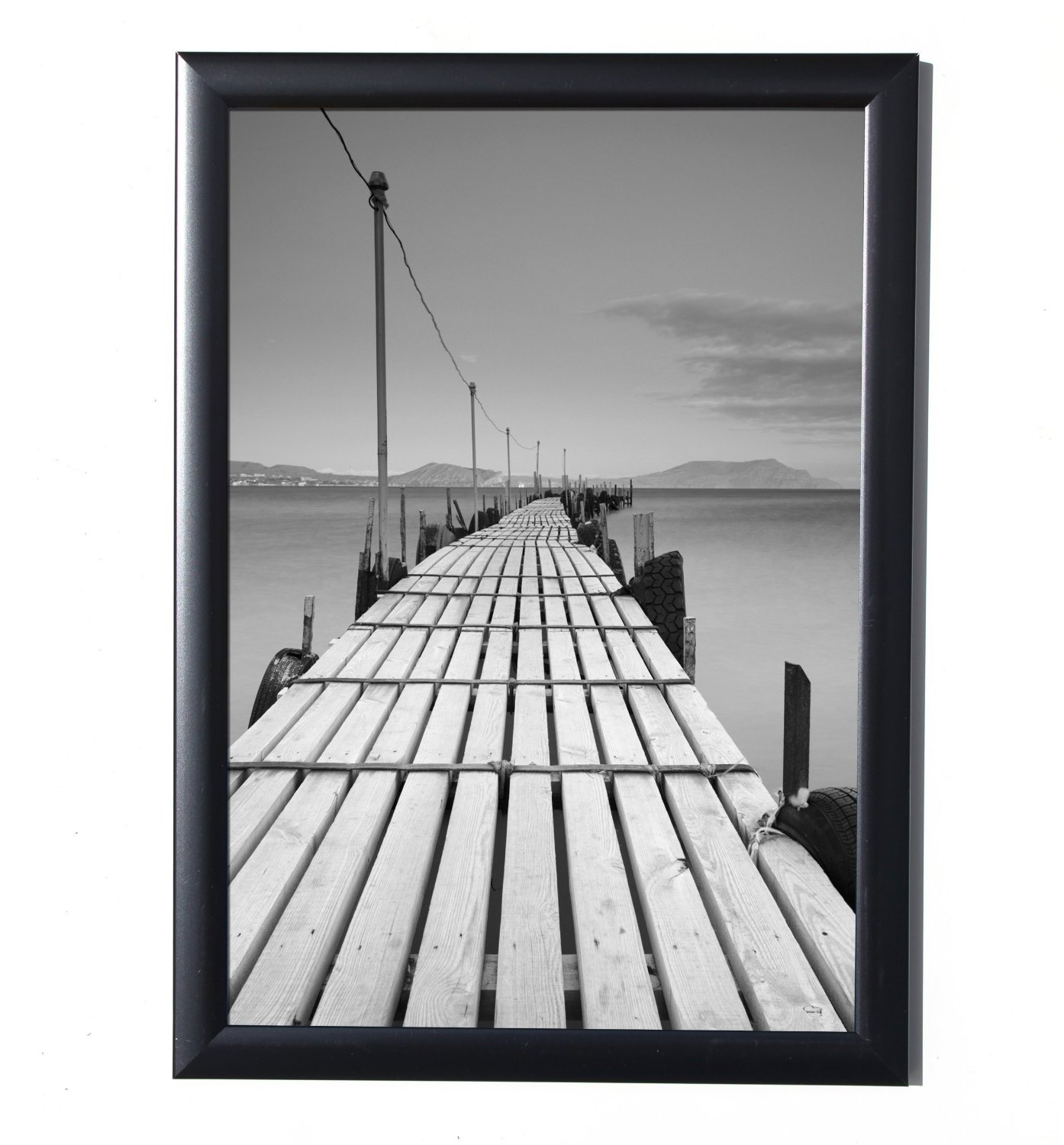 Anker A4 Certificate Photo/Picture Frame, Classic Black, 21 x 29.7 cm Z-ANBLDM/1