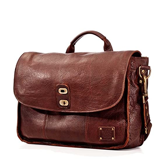 Will Leather Goods Men s Kent Messenger Bag - Brown  Amazon.co.uk ... 6de7464727