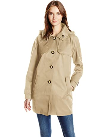 f079c2bf9bf0 London Fog Women's Button Front Topper