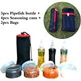 MLMSY 6 Piece Stainless Steel (Bowl, Fork, Spoon) , Travel and Camping Cutlery Set with Carrying Bag for 2 People