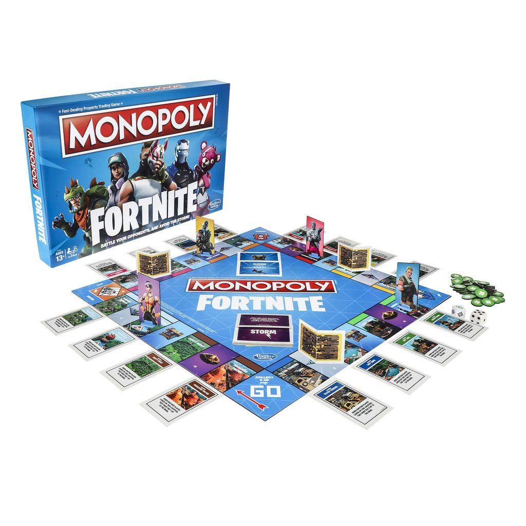 Hasbro Monopoly Fortnite Edition Board Game Amazon De Spielzeug