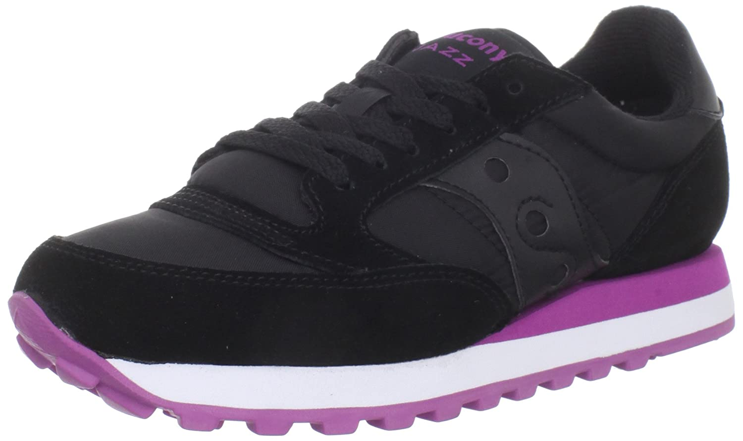 Saucony Originals Women's Jazz Original Sneaker B0073R1QTW 6.5 B(M) US|Black/Pink