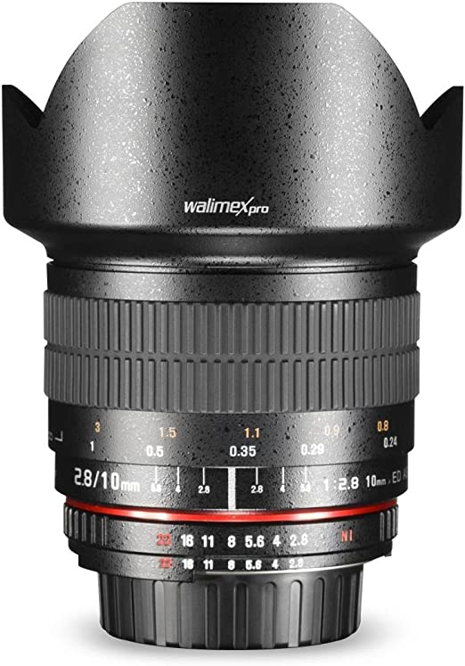 Walimex Pro 10mm 1 2 8 Csc Weitwinkelobjektiv Für Fuji Kamera