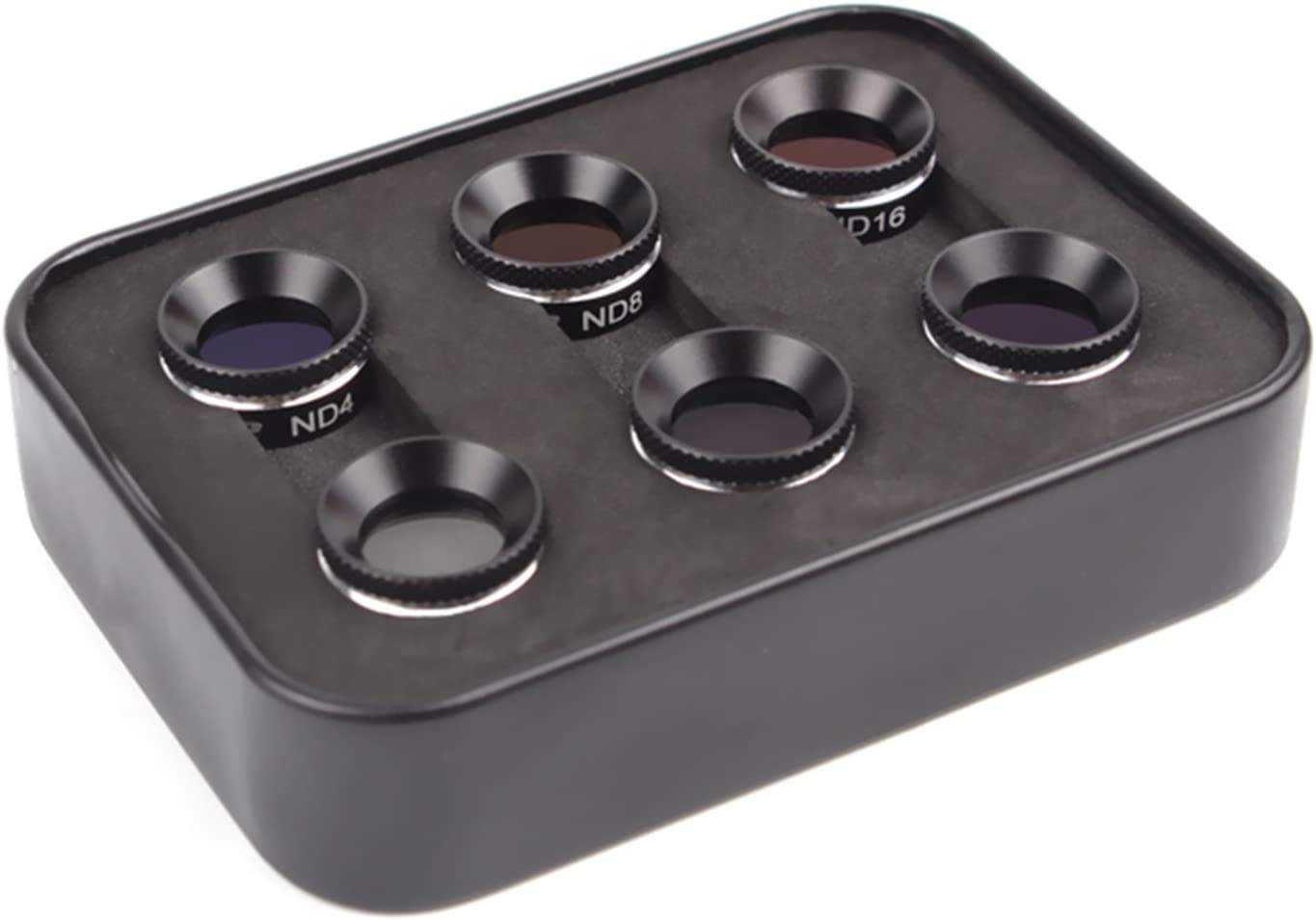 4 in 1 Combo: MCUV+CPL+ND4+ND8 Owoda ND4 ND8 ND16 CPL MCUV Camera Filter Lens Set for DJI Mavic AIR
