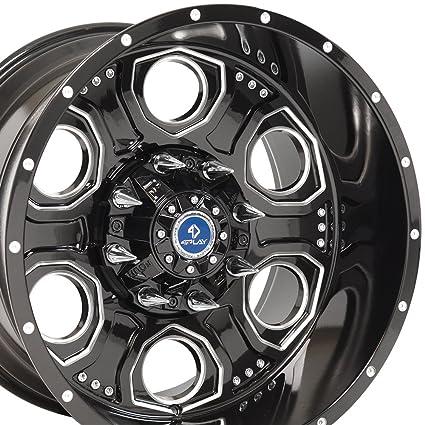 amazon com 20x12 wheels fit wheels fit 8 lug heavy duty gmc chevy