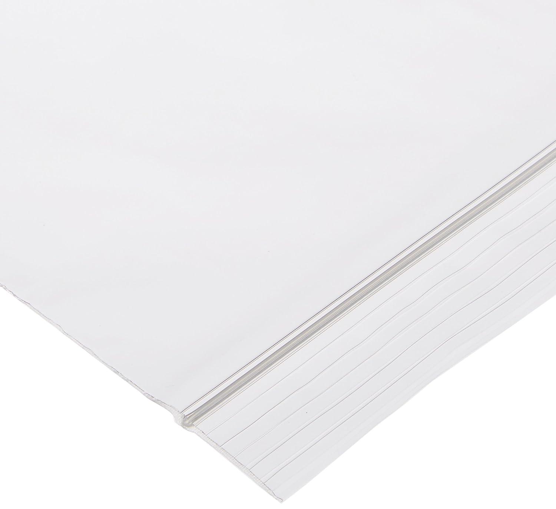 "Elkay F20912 2 mil Line Single Track Seal Top Bag, 9"" x 12"", Clear (Pack of 1000)"