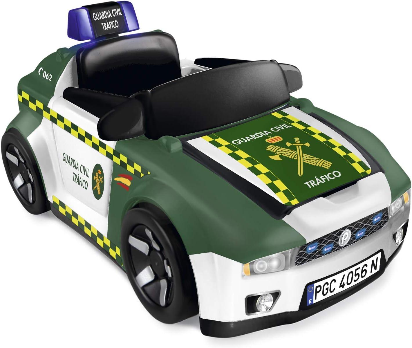 Pinypon Action- Guardia Civil Coche y Moto, vehículo policía Juguete (Famosa 700015836)