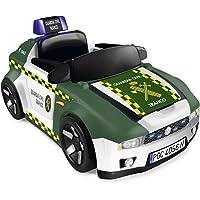 Pinypon Action-700015836 Guardia Civil Coche y Moto, vehículo policía Juguete, Color Verde (Famosa 700015836)