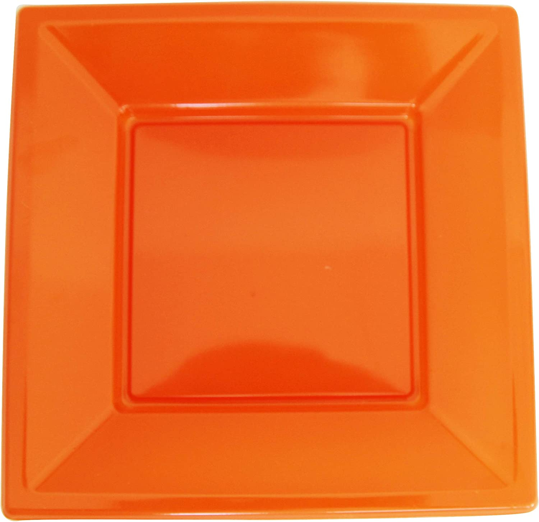 Dimensioni e Colori a Scelta Anice 18 x 18 cm Confezione da 25 Piastre in plastica riciclabile Colorata Extiff