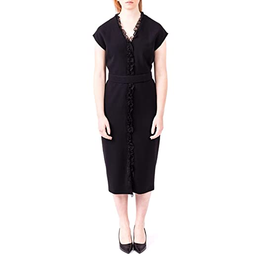 ac5dcae5913 Image Unavailable. Image not available for. Colour  Max Mara Women s  82211197000003 Black Polyester Dress