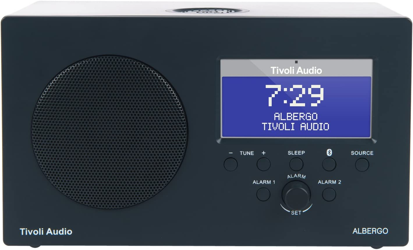 Tivoli Albergo Bluetooth Ukw Mw Radiowecker In Graphit Audio Hifi
