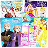 Disney Princess Coloring Book Super Set -- Bundle Includes 4 Disney Princess Books Filled with Over 400 Coloring Pages…