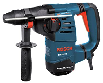 Bosch 1-1/8-Inch SDS Rotary Hammer RH328VC with Vition Control ... on