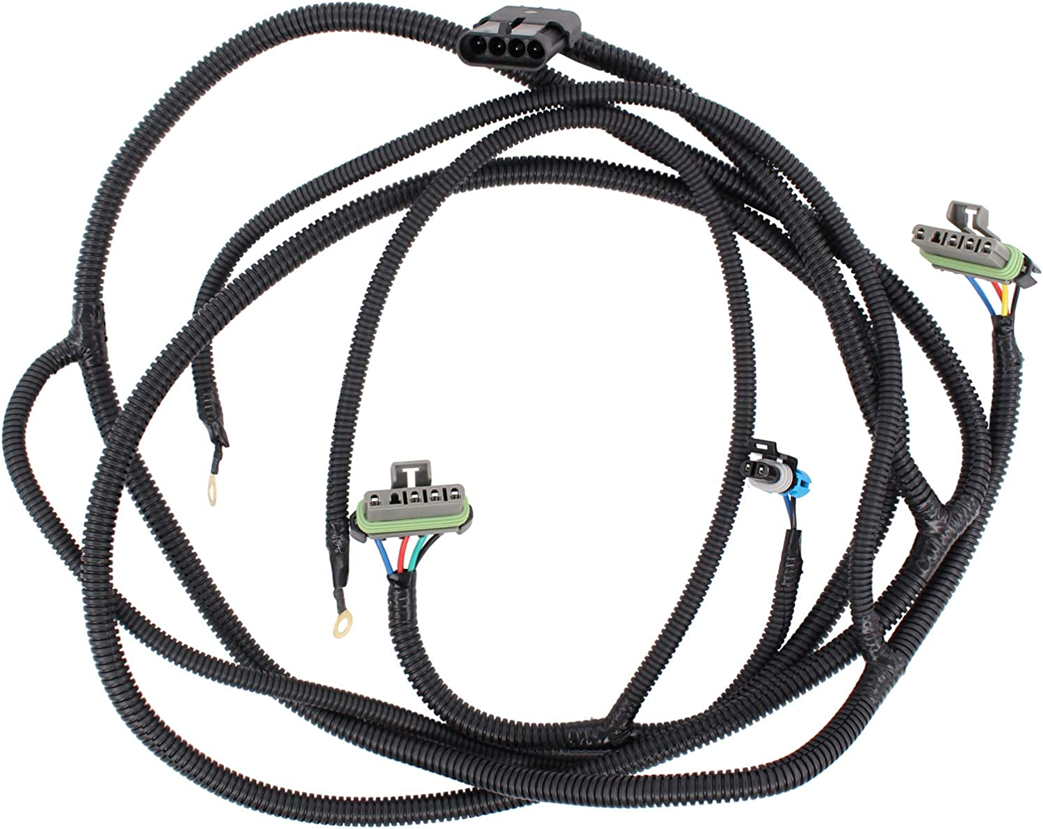 XtremeAmazing Tail Light Wiring Harness Compatible with Chevy GMC Blazer Suburban Tahoe Yukon 88-98