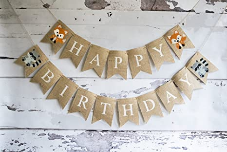 Amazon Woodland Themed Birthday Party