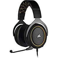 Corsair HS60 Pro – 7.1 Virtual Surround Sound PC Gaming Headset w/USB DAC - Discord Certified Headphones – Compatible…
