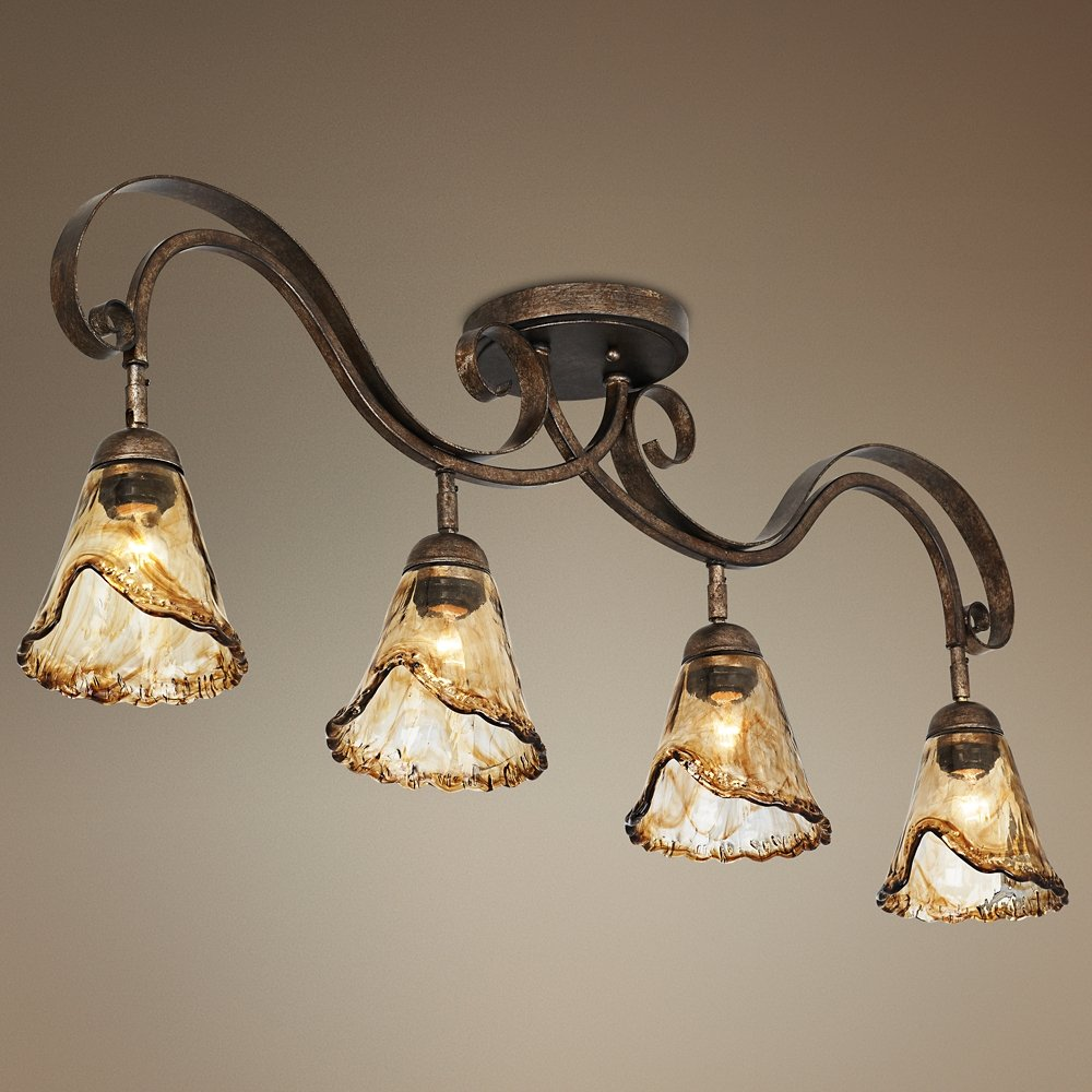 organic lighting fixtures. organic amber glass 41 lighting fixtures e