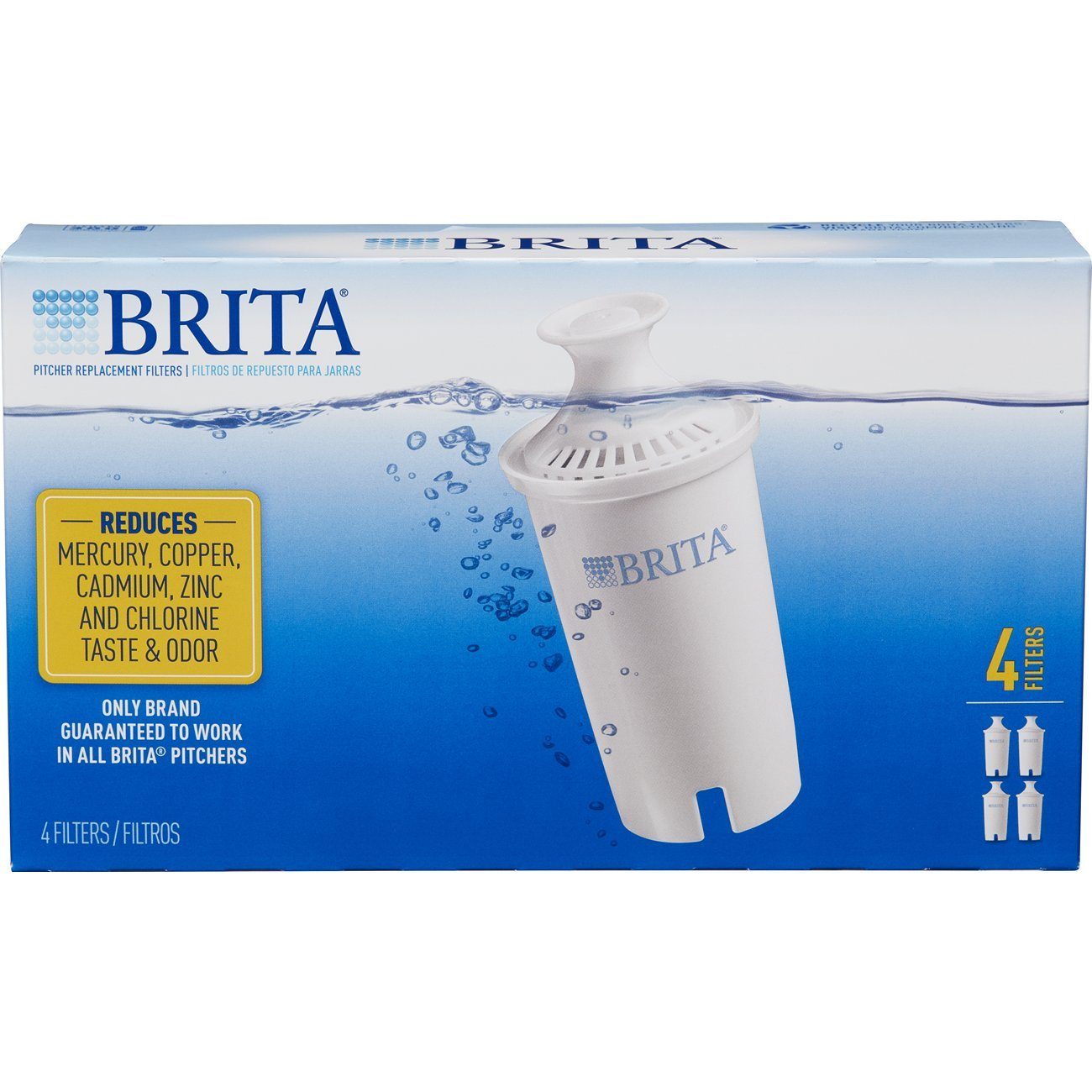 Amazon.com: Brita Standard Replacement Filters for Pitchers and ...