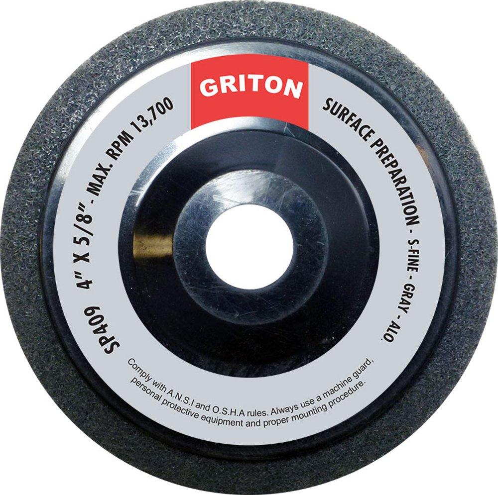 Griton SP409 Silicon Carbide Super Fine Surface Preparation Wheel, 4'' x 5/8'' (Pack of 10)