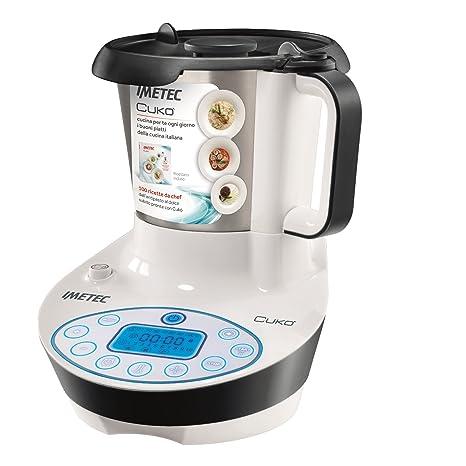 Imetec Cukò Robot da Cucina Multifunzione con Cottura, 3 Programmi ...