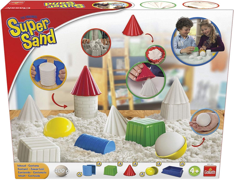 Goliath Super Sand Clasico Arena Magica Color Blanco 383324.008