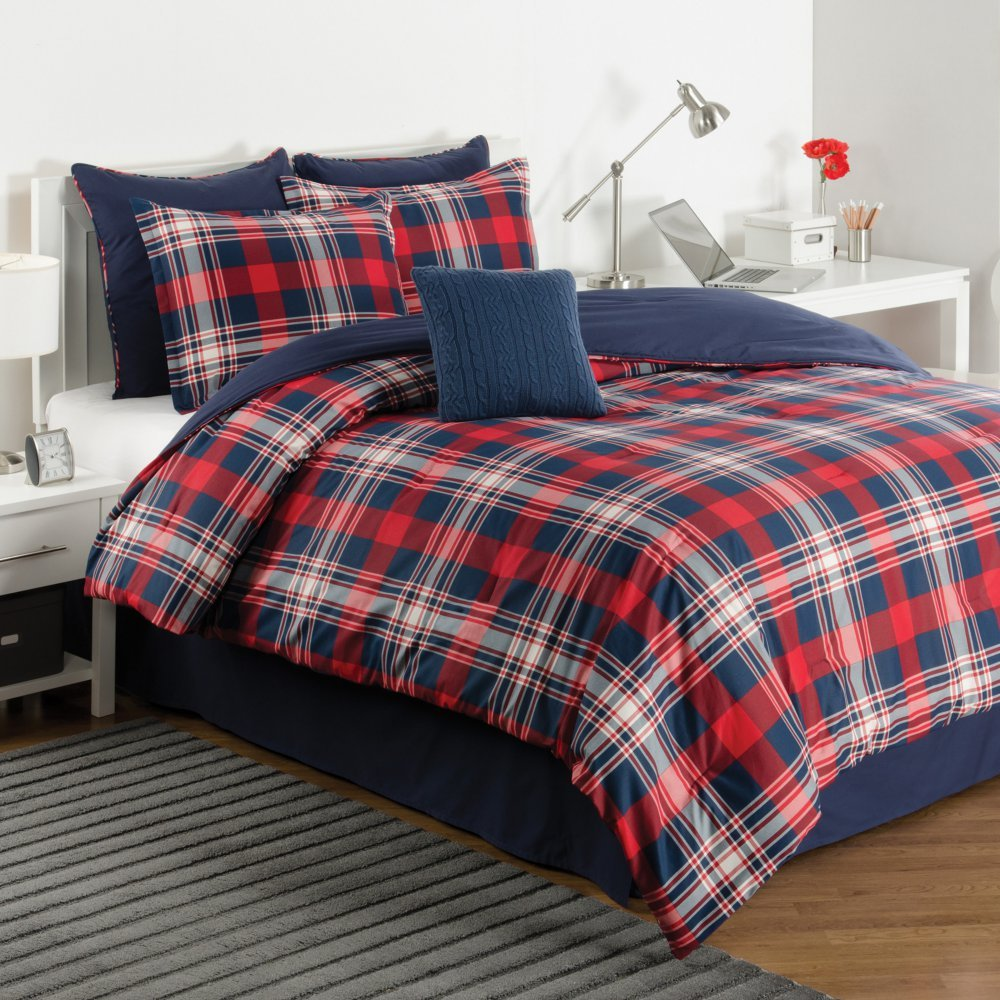beyond grey set williamsport product plaid comforter bath store red woolrich bed in