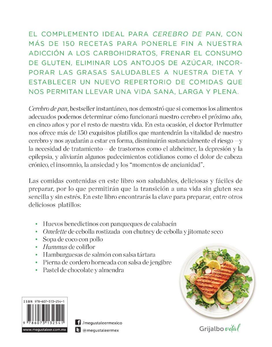 Cerebro de pan: La recetas: DAVIS PERLMUTTER: 9786073132541: Amazon.com: Books