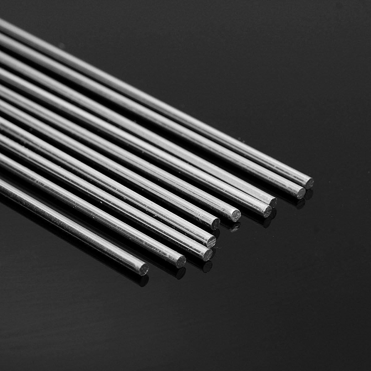 MASUNN 10Pcs 1.6 X330Mm Aleación De Aluminio Soldadura Plat