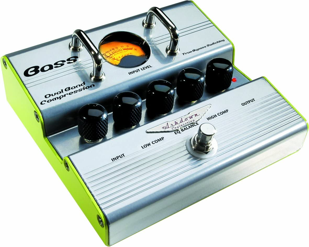 Ashdown Dual Band Comp · Pedal bajo eléctrico