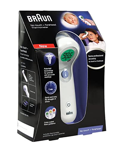 Braun-NTF3000US-Braun-No-Touch-Plus-Forehead-Thermometer
