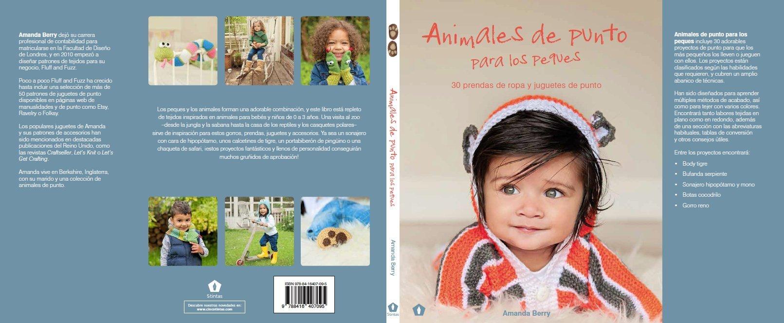 Animales de punto para los peques (Spanish Edition) (Spanish) Paperback – January 1, 2016
