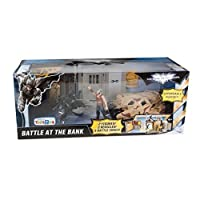 Batman The Dark Knight Rises Exclusive Battle at The Bank with Batman and Bane