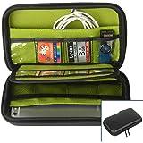 ZITFRI Aufbewahrungstasche Festplattentasche Organizer Aufbewahrung Tasche Etui für SD Karte, Speicherkarten, USB Sticks, Externe Festplatte