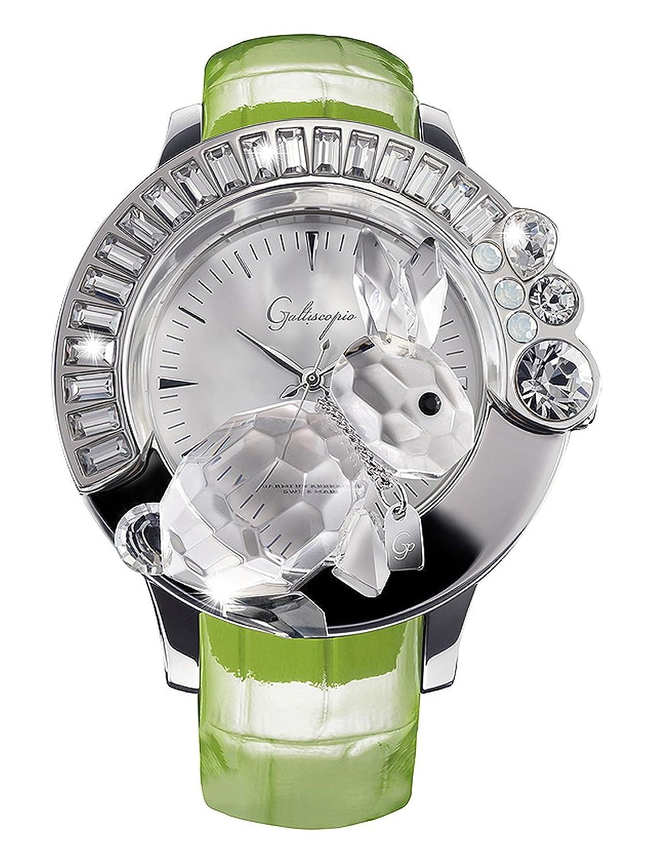 [ガルティスコピオ] Galtiscopio 腕時計 DARSS001GLS 兎7 緑 スワロフスキー クリスタル キラキラ レディース 日本正規総代理店 [正規輸入品] [時計] B007W8CB0U