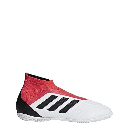 Adidas Predator Tango 18+ In J, Zapatillas de fútbol Sala Unisex niño, Blanco (Ftwbla/Negbás/Correa 000), 33 EU: Amazon.es: Zapatos y complementos