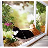 Window Mounted Cat Bed Pet Bed Sunny Seat Cat Bed Cat Perch by PETBON