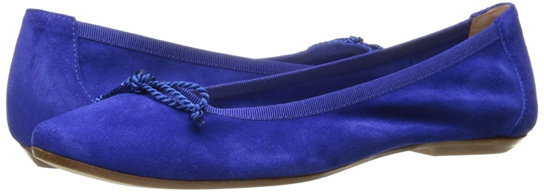 French Sole FS/NY Women's Winsome Pump B01N4PBEZI 8 B(M) US Blue Velour