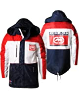 Ecko Unltd Mens Jacket Camber Hooded Coat Yacht Style White/Red/Navy S-XL E7003747