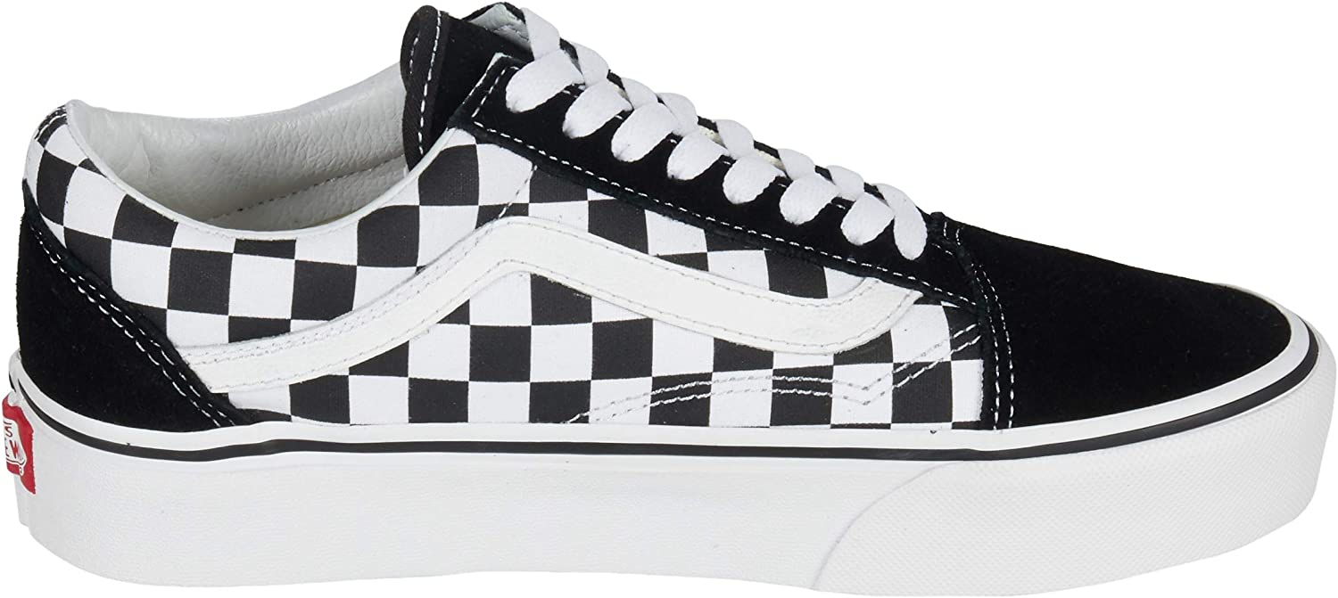 vans femme old skool checkerboard