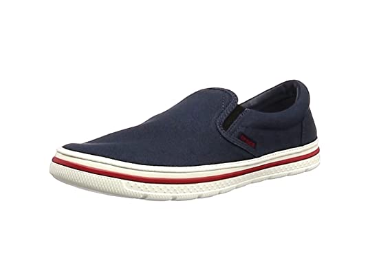 Crocs Norlin Slip-on Men, Hombre Zapatilla, Azul (Navy/White)