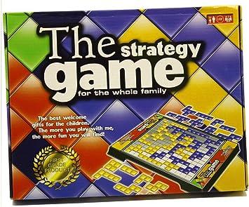 Blokus Juego de Mesa Juegos de Estrategia Cuadrados Versión en inglés 4 Jugadores / 2 Jugadores Juego Juegos Familiares, Juego de 2 Jugadores: Amazon.es: Juguetes y juegos