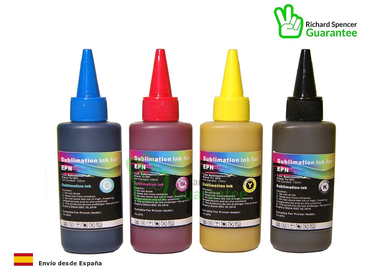 Tinta de Sublimacion Epson - compatible con Impresoras de ...