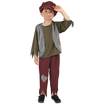 Smiffys Victorian Poor Boy Costume: Toys & Games